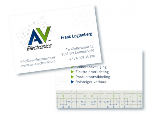 Visitekaartje AV-Electronics