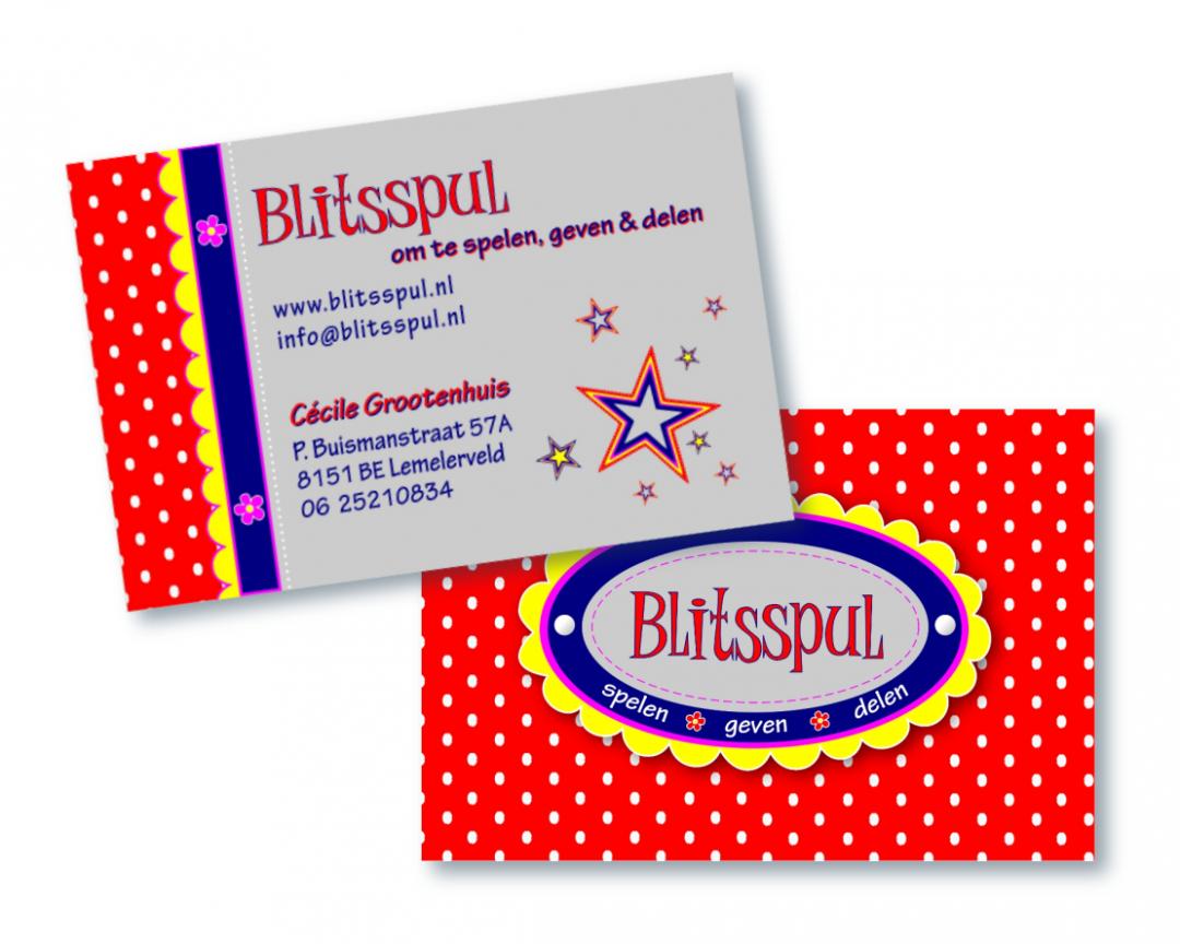 Visitekaartje Blitsspul